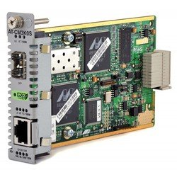 медиаконвертер allied telesis (at-cm3k0s) media blade 10/100/1000tx to sfp with 802.3ah oam