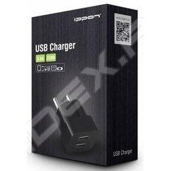 Универсальное зарядное устройство (Ippon TC323B) (черный)