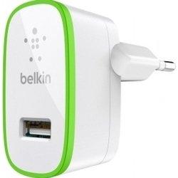 Сетевое зарядное устройство 2,1A (Belkin F8J052CWWHT) (белый)