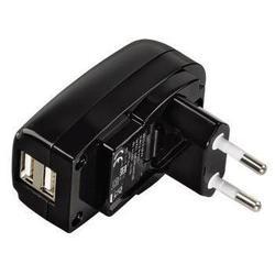Универсальное сетевое зарядное устройство Hama H-106302 (черный)