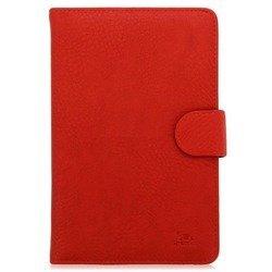 """Универсальный чехол-книжка для планшетов 7"""" (Riva 3012) (красный)"""