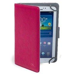 """Универсальный чехол-книжка для планшетов 8"""" (Riva 3014) (розовый)"""