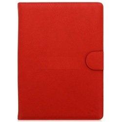 """Универсальный чехол-книжка для планшетов 10.1"""" (Riva 3017) (красный)"""