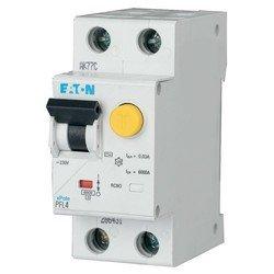 Дифф. автомат EATON/Moeller (293298) PFL4-16/1N/C/003 - 16/0.03А /230В /1P+N /4.5кА (тип АС)