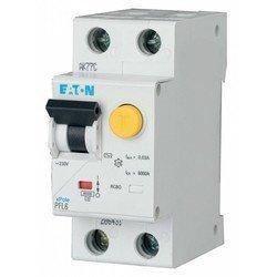 Дифф. автомат EATON/Moeller (286464) PFL6-6/1N/C/003 - 6/0.03А /230В /1P+N /6кА (тип АС)