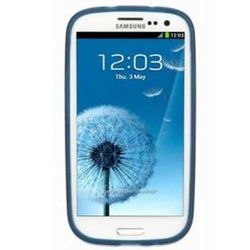 чехол-накладка для samsung galaxy s3 i9300 (griffin rev gb36057) (синий)