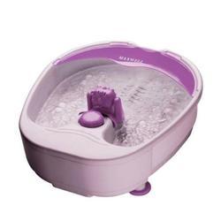 Гидромассажная ванночка для ног (Maxwell MW-2451-PK) (розовый)