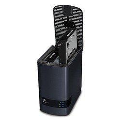 Система NAS WD My Cloud EX2 8Tb (WDBWAK0080JCH-EEUE) (черный)