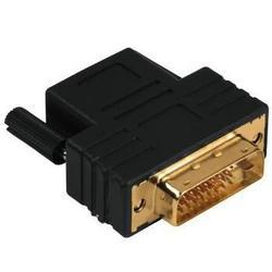 Переходник DVI-D - HDMI(f) Dual Link 3зв (Hama Compact 00122237) (черный)
