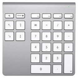 Belkin Wireless YourType Numeric Keypad Silver USB