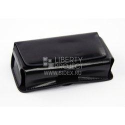 Универсальный чехол-сумочка для телефонов (CD000552) (черный)
