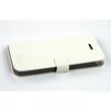 Кожаный чехол-книжка для Apple iPhone 5, 5S, SE (CD126375) (белый) - Чехол для телефонаЧехлы для мобильных телефонов<br>Плотно облегает корпус и гарантирует надежную защиту от царапин и потертостей.<br>