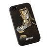 Силиконовый чехол-накладка для Apple iPhone 4, 4S (R0002642) (Супер носок) - Чехол для телефонаЧехлы для мобильных телефонов<br>Плотно облегает корпус и гарантирует надежную защиту от царапин и потертостей.<br>