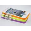 Чехол-накладка для Apple iPhone 5, 5S, SE (CD126274) (белый/салатовый) - Чехол для телефонаЧехлы для мобильных телефонов<br>Плотно облегает корпус и гарантирует надежную защиту от царапин и потертостей.<br>