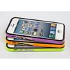 Чехол-накладка для Apple iPhone 5, 5S, SE (CD126281) (черный/салатовый) - Чехол для телефонаЧехлы для мобильных телефонов<br>Плотно облегает корпус и гарантирует надежную защиту от царапин и потертостей.<br>