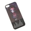 Чехол-накладка для Apple iPhone 5, 5S, SE (R0002424) (Девушка вампир с кубком) - Чехол для телефонаЧехлы для мобильных телефонов<br>Чехол светится при звонке, а так же гарантирует надежную защиту от царапин и потертостей.<br>