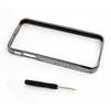 Алюминиевый бампер для Apple iPhone 4, 4S (CD122699) (графит) - Чехол для телефонаЧехлы для мобильных телефонов<br>Плотно облегает корпус и гарантирует надежную защиту от царапин и потертостей.<br>