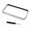Алюминиевый бампер для Apple iPhone 4, 4S (CD122700) (матовое серебро) - Чехол для телефонаЧехлы для мобильных телефонов<br>Плотно облегает корпус и гарантирует надежную защиту от царапин и потертостей.<br>