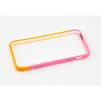 Пластиковый бампер для Apple iPhone 5, 5S, SE (CD126290) (оранжевый/розовый) - Чехол для телефонаЧехлы для мобильных телефонов<br>Плотно облегает корпус и гарантирует надежную защиту от царапин и потертостей.<br>
