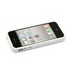 Бампер для Apple iPhone 4, 4S (CD013725) (белый) - Чехол для телефонаЧехлы для мобильных телефонов<br>Плотно облегает корпус и гарантирует надежную защиту от царапин и потертостей.<br>