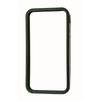 Бампер для Apple iPhone 4, 4S (CD020341) (прозрачный/черный) - Чехол для телефонаЧехлы для мобильных телефонов<br>Плотно облегает корпус и гарантирует надежную защиту от царапин и потертостей.<br>