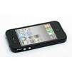 Бампер для Apple iPhone 4, 4S (CD013728) (черный) - Чехол для телефонаЧехлы для мобильных телефонов<br>Плотно облегает корпус и гарантирует надежную защиту от царапин и потертостей.<br>