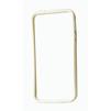 Бампер для Apple iPhone 5, 5S (CD128021) (прозрачный/белый) - Чехол для телефонаЧехлы для мобильных телефонов<br>Плотно облегает корпус и гарантирует надежную защиту от царапин и потертостей.<br>