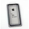 Бампер для Apple iPhone 5, 5S (CD126599) (черный) - Чехол для телефонаЧехлы для мобильных телефонов<br>Плотно облегает корпус и гарантирует надежную защиту от царапин и потертостей.<br>