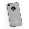 Силиконовый чехол-накладка для Apple iPhone 4, 4S (SM000444) (белый матовый) - Чехол для телефонаЧехлы для мобильных телефонов<br>Плотно облегает корпус и гарантирует надежную защиту от царапин и потертостей.<br>