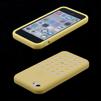 Силиконовый чехол-накладка для Apple iPhone 5C (R0000448) (желтый) - Чехол для телефонаЧехлы для мобильных телефонов<br>Плотно облегает корпус и гарантирует надежную защиту от царапин и потертостей.<br>