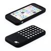 Силиконовый чехол-накладка для Apple iPhone 5C (R0000444) (черный) - Чехол для телефонаЧехлы для мобильных телефонов<br>Плотно облегает корпус и гарантирует надежную защиту от царапин и потертостей.<br>