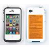 Чехол для Apple iPhone 4, 4S (LifeProof CD127985) (белый) - Чехол для телефонаЧехлы для мобильных телефонов<br>Ультрапрочный влагозащищенный чехол плотно облегает корпус и гарантирует надежную защиту Вашему устройству.<br>