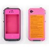 Чехол для Apple iPhone 4, 4S (LifeProof CD126354) (розовый) - Чехол для телефонаЧехлы для мобильных телефонов<br>Ультрапрочный влагозащищенный чехол плотно облегает корпус и гарантирует надежную защиту Вашему устройству.<br>