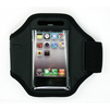 Спортивный чехол на руку для Apple iPhone 4, 4S, 3G, 3GS (ArmBand CD120940) (черный) - Чехол для телефонаЧехлы для мобильных телефонов<br>Современный спортивный чехол на руку. Плотно облегает корпус и гарантирует надежную защиту от потертостей и других нежелательных внешних повреждений.<br>