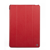 Кожаный чехол-книжка для Apple iPad Air (Hoco HA-L028 Duke R0000850) (красный) - Чехол для планшетаЧехлы для планшетов<br>Плотно облегает корпус и гарантирует надежную защиту от царапин и потертостей.<br>