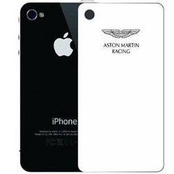 защитная пленка для apple iphone 5, 5s, se (aston martin racing sgiph5001b) (двойная, прозрачная, белая)
