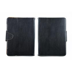 """Универсальный кожаный чехол-книжка для планшетов 9"""" (SM001585) (черный)"""