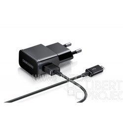 Сетевое зарядное устройство Samsung ETA0U90EBE (черный)
