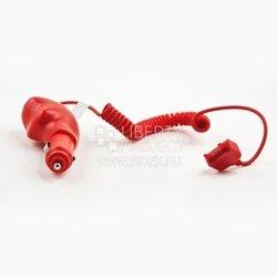 Автомобильное зарядное устройство для Sony Ericsson K750, P990, W550, W600, W800, J220, J230 (красный)