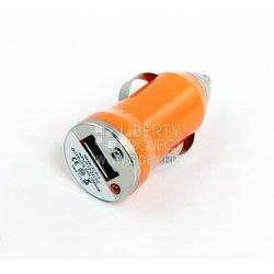 Автомобильное зарядное устройство USB (SM000130) (оранжевый)