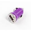 Универсальное автомобильное зарядное устройство, адаптер 1хUSB, 1A (Liberti Project SM000128) (сиреневый) - Автомобильный адаптерАвтомобильные адаптеры 12v - USB<br>Аксессуар для зарядки устройства от прикуривателя автомобиля.<br>