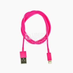 дата-кабель lightning - usb для apple iphone 5, 5c, 5s, 6, 6 plus, ipad 4, air, air 2, mini 1, mini 2, mini 3 (sm001307) (розовый)