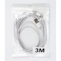 ����-������ lightning - usb ��� apple iphone 5, 5c, 5s, 6, 6 plus, ipad 4, air, air 2, mini 1, mini 2, mini 3 (sm000692) (�����)