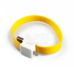 дата-кабель lightning - usb для apple iphone 5, 5c, 5s, 6, 6 plus, ipad 4, air, air 2, mini 1, mini 2, mini 3 (на магните) (sm001676) (желтый)