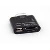 Переходник картридер Connection Kit для Samsung Tab P7300, P7500 (OT-3102 CD122317) - Usb, hdmi кабель, переходникUSB-, HDMI-кабели, переходники<br>Переходник предназначен для передачи данных с внешних носителей информации, подключения периферийных устройств и для синхронизации с компьютером через microUSB дата-кабель.<br>