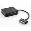Картридер SD, MMC, MiniSD, MicroSD, M2, MS для Samsung Galaxy Tab (CD123208) - Usb, hdmi кабель, переходникUSB-, HDMI-кабели, переходники<br>Переходник предназначен для передачи данных с внешних носителей информации, подключения периферийных устройств и для синхронизации с компьютером.<br>