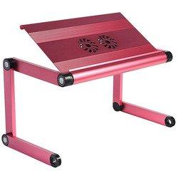 Универсальный стол-подставка для ноутбука (ASX A8) (розовый)