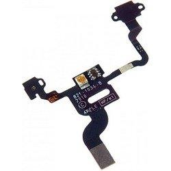 Шлейф для Apple iPhone 4S (светочувствительный элемент с микрофоном и кнопкой включения) (CD128186)
