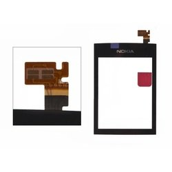 Тачскрин для Nokia Asha 300 (черный) 1-я категория