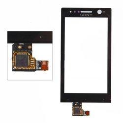 Тачскрин для Sony Xperia U (черный) 1-я категория